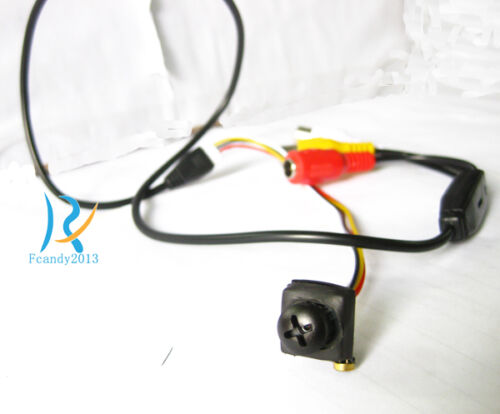 New SR 1000TVL Full hight HD smallest mini spy hidden pinhole nanny micro camera