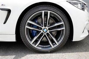 bmw new genuine 704m alloy wheel 8j front f3x ferric grey. Black Bedroom Furniture Sets. Home Design Ideas