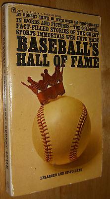 Baseball's Hall of Fame by Robert Smith 150 Photos SC 1973