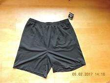 Jockey men's 100%polyester black mesh sports shorts Size XXL
