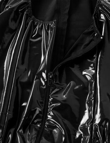 Womens One-piece Bodysuit Plus Thongs Sleeveless Rompers Glove Leotard Jumpsuit