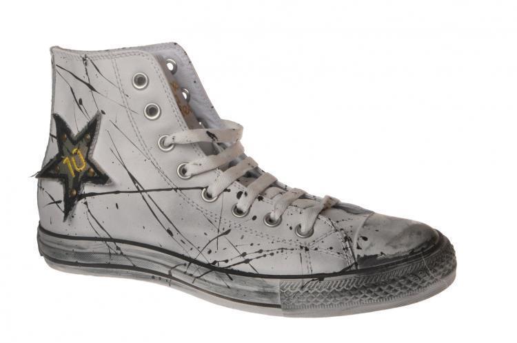 Scarpe casual da uomo  Happiness  -  Sneakers - Male - White - 2215614A185647