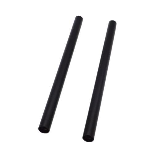 2 un 15 mm Varilla de aleación de aluminio para sistema de rieles de soporte de cámara 25 cm 10 in approx. 25.40 cm