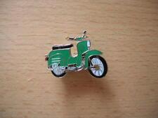 Pin Anstecker Simson Schwalbe grün Moped Motorrad 1029 Kleinkraftrad Moto