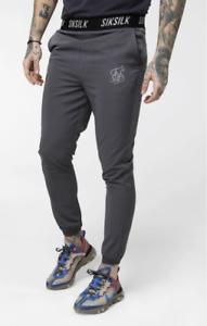RRP-45-00-SikSilk-Men-039-s-Pursuit-Pants-Grey