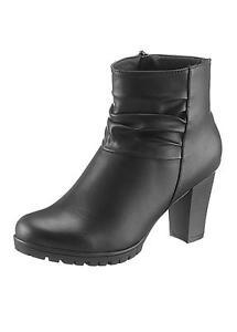 City Walk Black Ankle Boots UK4 EU37 JS22 95 www
