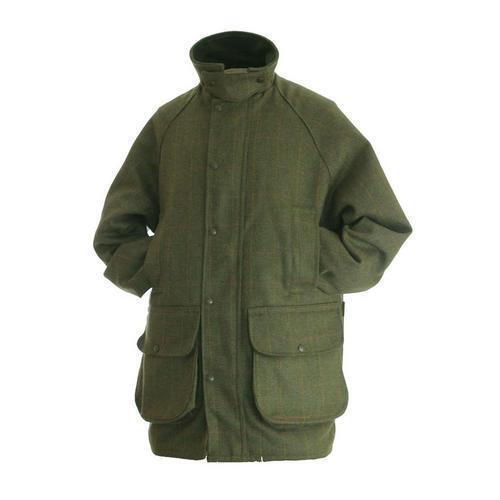 Hunter Outdoors Para Hombre Chaqueta De Tweed Tirojoeo Caza cheque Abrigo Impermeable