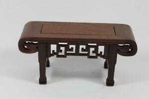 21-cm-Blumen-Bonsai-Sockel-Untersetzer-Holz-China
