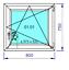 Finestre-in-PVC-Colori-NOCE-e-QUERCIA-D-039-ORATA-Aluplast-ID-4000-Misure-diverse miniatuur 29