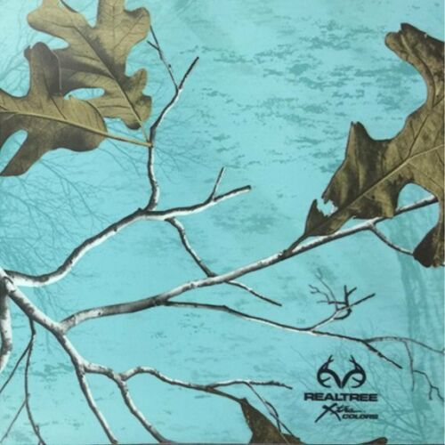 "Realtree Seaglass  vinyl Wrap air release MATTE Finish 12/""x12/"""