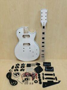 238DIY MB Totally NO-SOLDER DIY Kit-LP Style Electric Guitar,Flame Maple Veneer