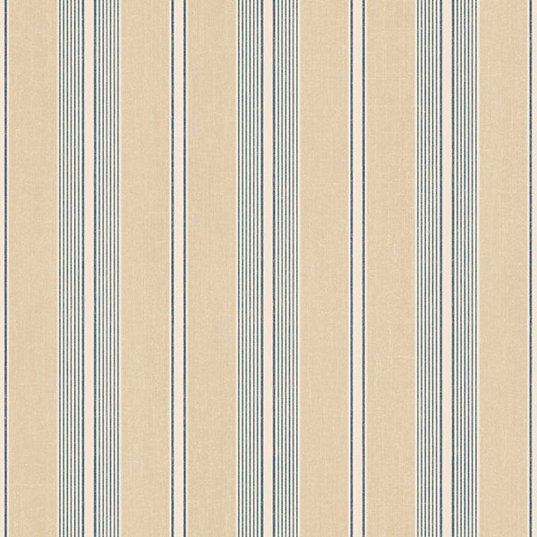 DS29706 - Stripes & Damasks Cream Grey White Stripes Galerie Wallpaper