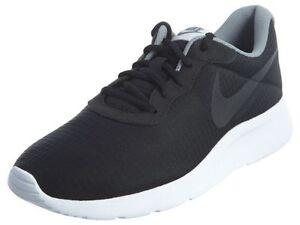 Men's Nike Tanjun Premium Black/White/Light Bone Sz 8-12 New In Box 876899-001