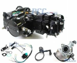 Lifan 125CC Engine Motor Carb For Honda XR50 CRF50 XR70 CRF70 CT70 ST70 110CC 70