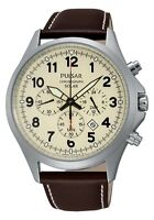 Pulsar Solar Power Gents Watch - Stainless Steel Bracelet OR Leather Strap