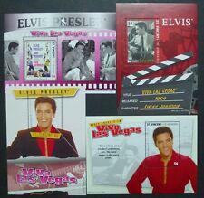 ST. VINCENT 2009 Elvis Presley Musik Sänger Block 692-695 ** MNH