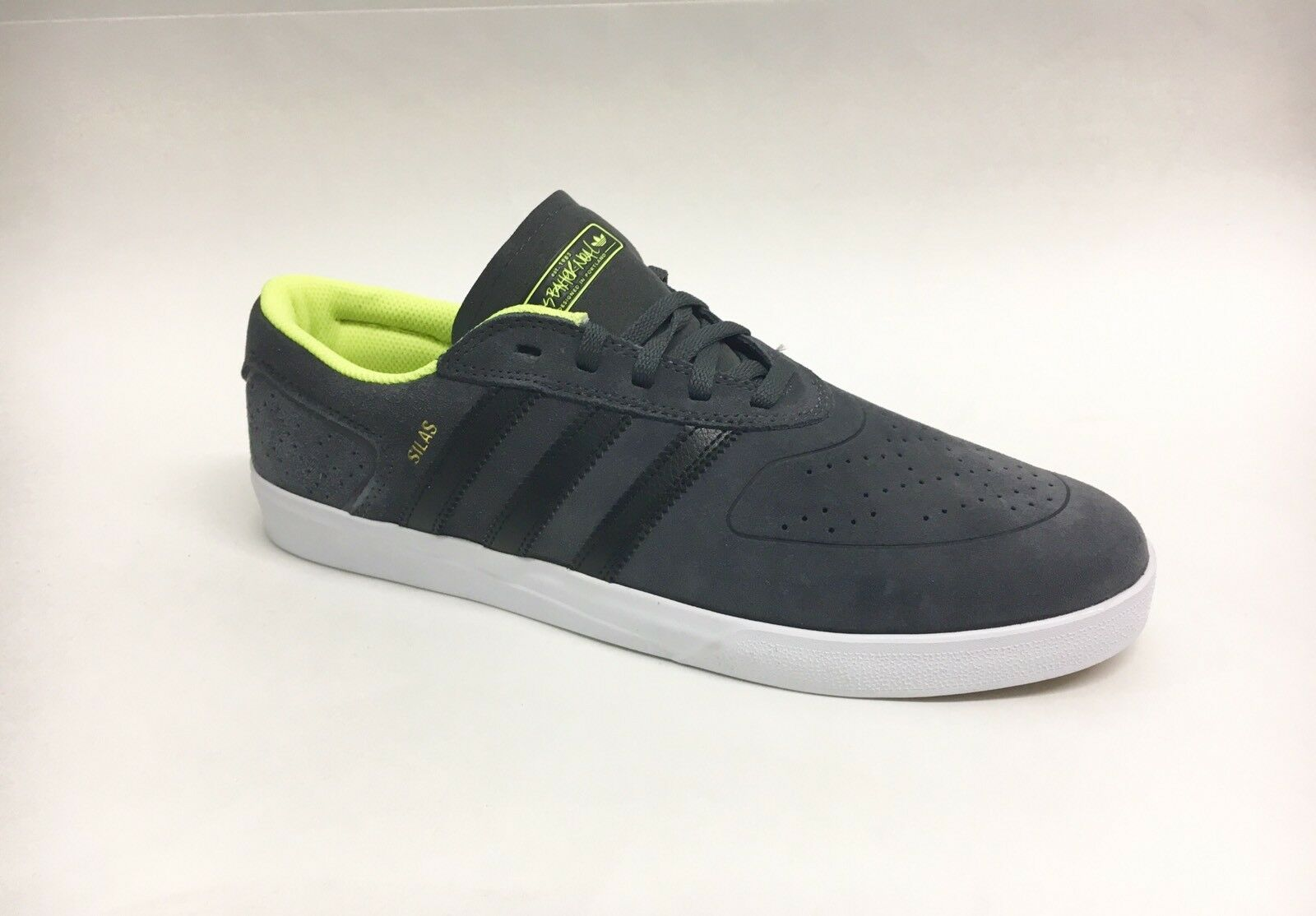 Adidas Skateboarding Shoe Silas Vulc Adv Gray Black Yellow Men's 11 Great discount