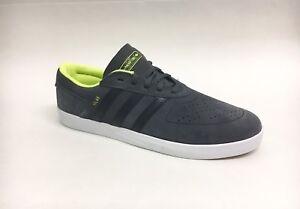 Adidas Skateboarding Shoe Silas Vulc Adv Gray Black Yellow Men s 9 ... 4deadf84cc