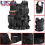 Military-Vest-Tactical-Plate-Carrier-Holster-Police-Molle-Assault-Combat-Gear thumbnail 12