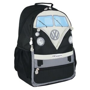 256c865d684c5 Official VW T1 Camper Van Large Rucksack Backpack Bag - Black | eBay
