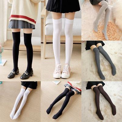 12 Pairs Girls Ladies Trouser Over The Knee High Stretch Socks Tights Size 4-7 Dinge FüR Die Menschen Bequem Machen