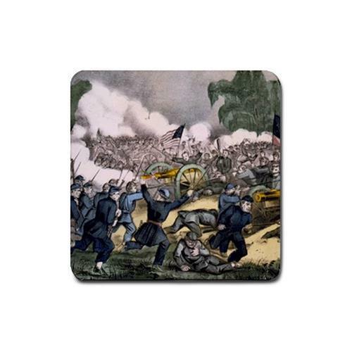 Batalla de Gettysburg Guerra Civil Bebida Posavasos 4 Pack