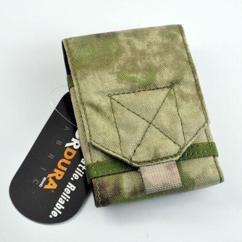 Cordura Tissu Militaire Téléphone Étui Pochette ATACS Feuillage vert