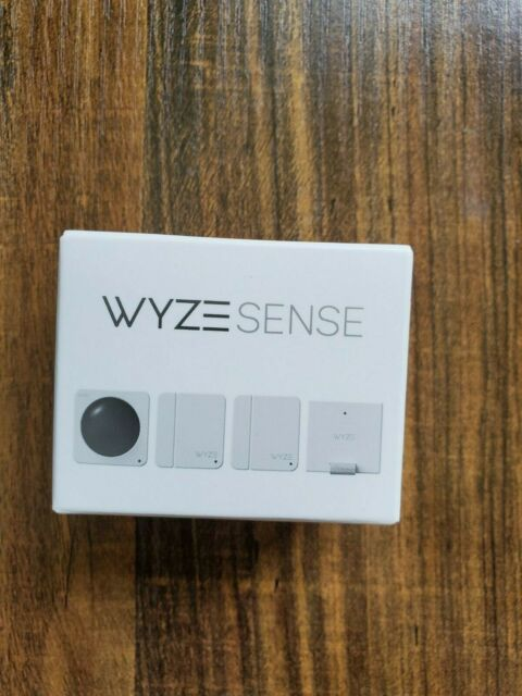 NEW Wyze Sense starter kit includes Hub (bridge) + 2 contact & 1 motion sensor