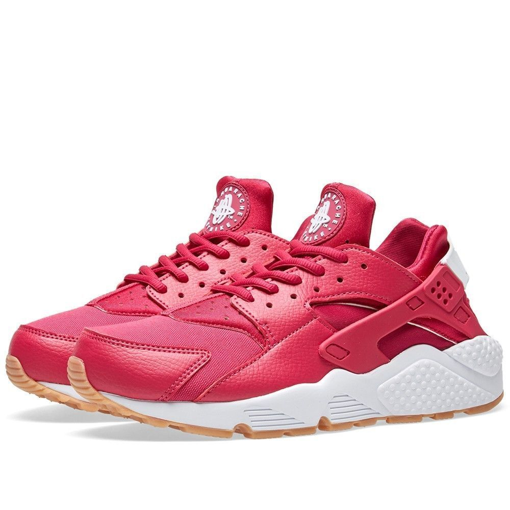 634835 606 WOMEN'S NIKE AIR HUARACHE RUN SHOE FUCHSIA/WEISS-GUM SZ 7