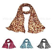 Leopard Moc Vintage Celebrity Soft Animal Print Lady Warm Scarf Shawl Wrap Gift