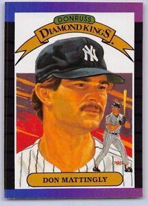 1989 Don Mattingly Donruss Diamond King Baseball Card 26 N Y Yankees Ebay