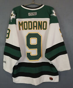 MEN-039-S-NHL-DALLAS-STARS-VINTAGE-ICE-HOCKEY-JERSEY-SHIRT-MIKE-MODANO-CCM-SIZE-M