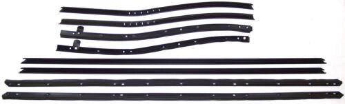 belt line molding 1969-1970 Buick Electra 225 convertible window sweep seals
