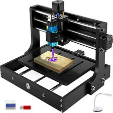 Vevor 3 Axis Cnc 3020 05w Cnc Machine 300x200x40mm Mini Laser Engraver 10000rpm