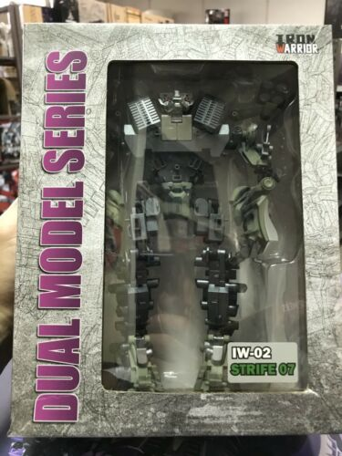 Toys Hero In Hand Transformers IRON WARRIOR DMK IW-02 Strife-07 BRAWL Assemble
