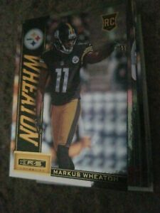 Details about 2013 Rookies and Stars Longevity #163 Markus Wheaton RC Pittsburgh Steelers