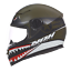 Helmet-Integral-Child-Nox-N682K-Warrior-Khaki-Red-Black-Choice-Size thumbnail 1