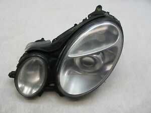 Halogen Headlight Headlamp Driver Side Left LH for Mercedes E Class E320 E500