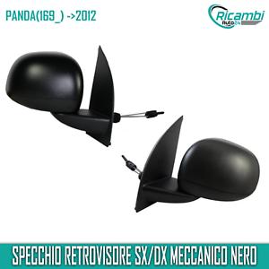 FIAT PANDA dal 2012 RETROVISORE MECCANICO DESTRO NERO