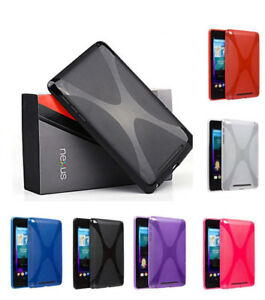 Soft-X-Shell-Gel-TPU-Silicone-Case-Skin-Cover-For-Google-Nexus-7-II-9-Tab-Tablet