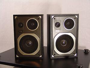 AUDIOLOGIC shelf speakers 3-way - MX-500 made in Japan
