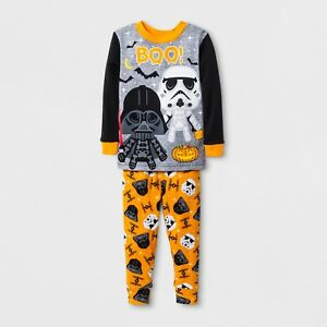 Star Wars CLONE WARS 2-pc COTTON PAJAMAS Boys 4 /& 6 ~ NWT