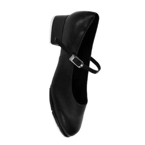 Bloch 370 Kelly scarpe da tip tap-Nero O Marrone Chiaro