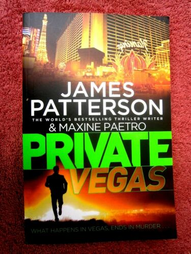 1 of 1 - PRIVATE  VEGAS  BY  JAMES  PATTERSON  2015  P/B