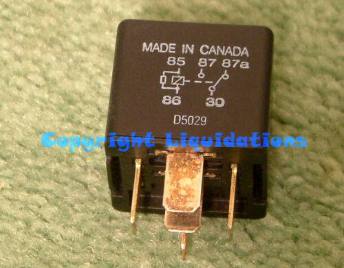 Relay G8JN-1C7T-R-DC12 12v 35Amp Non-Latching Single Pole Double Throw SPDT