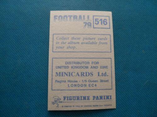 PANINI-FOOTBALL 79-Morton joueur Autocollants-Original-choisir votre propre