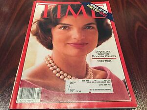 Details about TIME Magazine May 30 1994 Jacqueline Jackie Bouvier Kennedy  Onassis