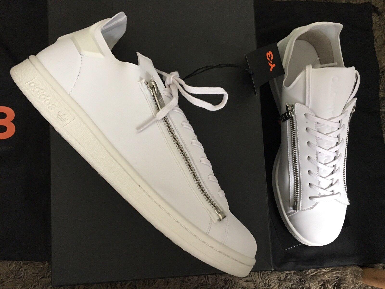 Adidas y3 Stan Smith Zip Weiß DEADSTOCK 9,5us 9uk 43 1 3fr NIB Yohji Yamamoto