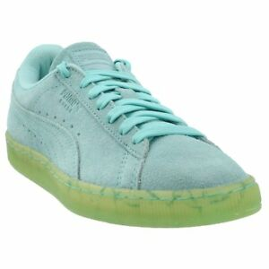 newest 6aeda 69adc Image is loading Puma-Suede-Classic-Easter-FM-Sneakers-Blue-Mens