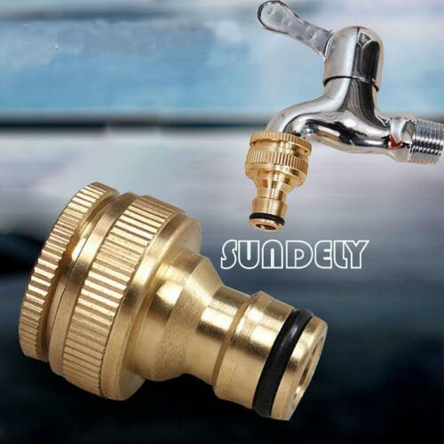10x 1//2/'/' Kitchen Water Tap Adaptor Connector To Garden Hose Pipe Fitting Tube